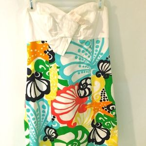 Lilly Pulitzer Chiquita Strapless dress